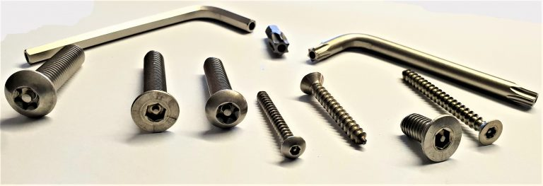 Security Fasteners and Tools
