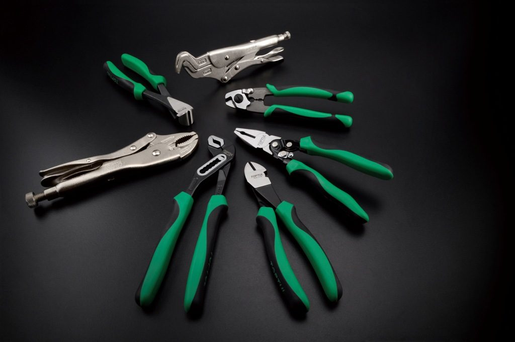 Toptul All Types of Pliers from Southern Cross Tradies